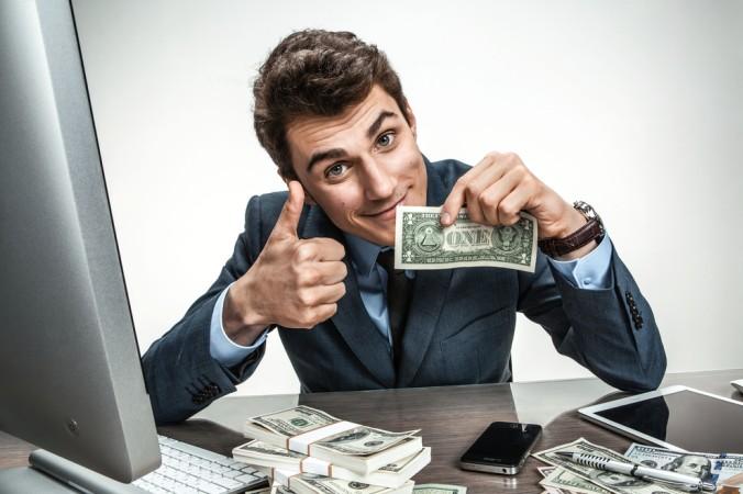 """Wer sprichwörtlich """"Dollars scheffeln"""" will, sollte die Gebühren im Blick behalten. (#1)"""
