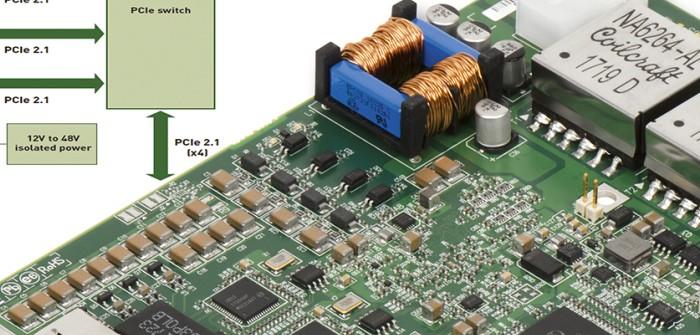 Matrox Concord PoE: RAUSCHER connected 4 GigE-Vision Industriekameras mit Gigabit-Ethernet-Adaptern
