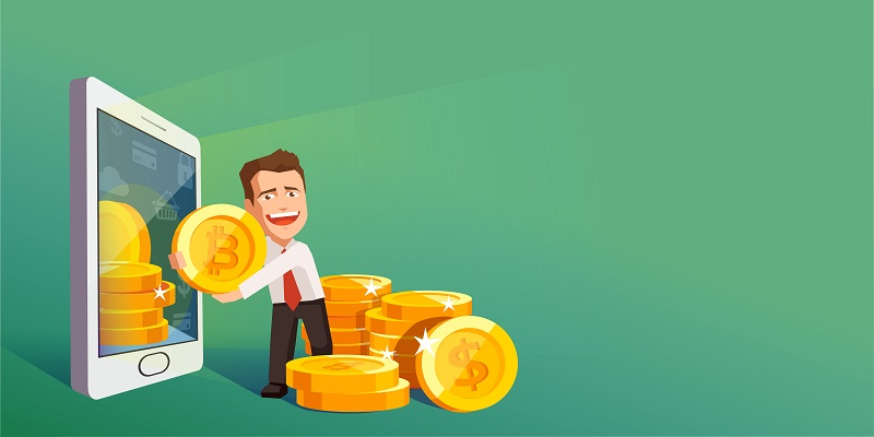 Jeder kann Bitcoin kaufen, indem Börsen und Marktplätze genutzt werden.  ( Foto: Shutterstock-FGC)
